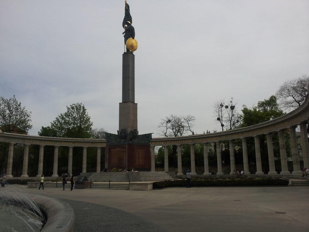 USSR Soldiers' Memorial in Vienna, Austria